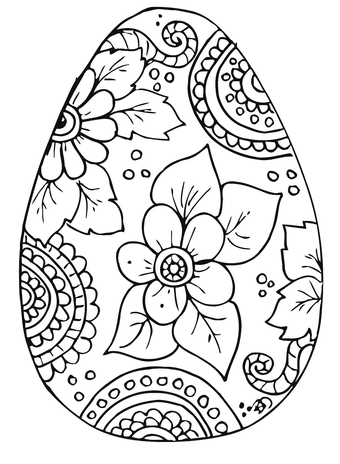 Printable Easter Coloring Pages Printable 360 Degree Download Of Easter Egg Designs Coloring Pages to Print