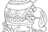 Coloring Pages for Kids for Easter - Printable Easter Egg Coloring Pages for Kids Printable