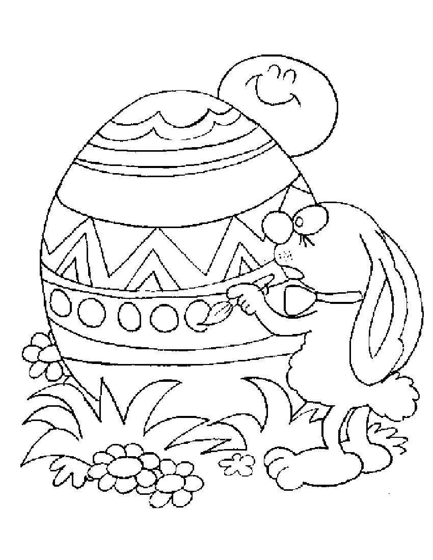 Printable Easter Egg Coloring Pages for Kids Printable – Free ...