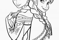Free Coloring Pages Of Frozen - Printable Elsa and Anna Coloring Pages Princess Coloring Pages to Print
