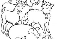 Animals Coloring Pages to Print - Printable Farm Animals Coloring Pages Old Macdonald Had A Farm Collection
