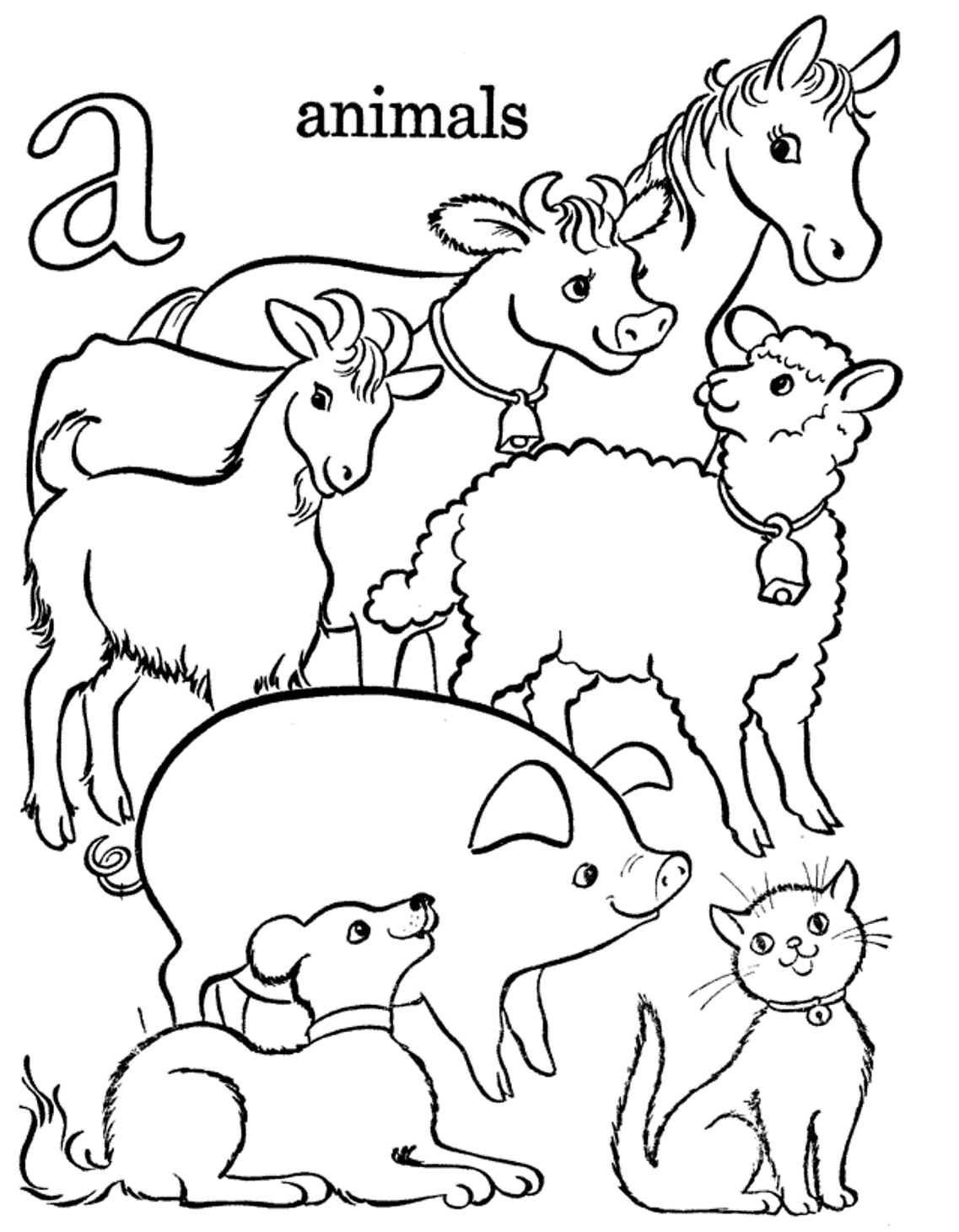 Anime Animals Coloring Pages Printable – Free Coloring Sheets