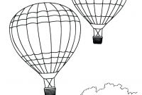 Hot Air Balloon Coloring Pages - Printable Hot Air Balloon Coloring Pages Printable