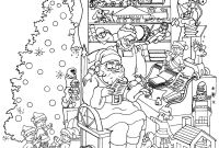 Christmas Coloring Pages Printable Free - Printable Intricate Christmas Coloring Pages Download