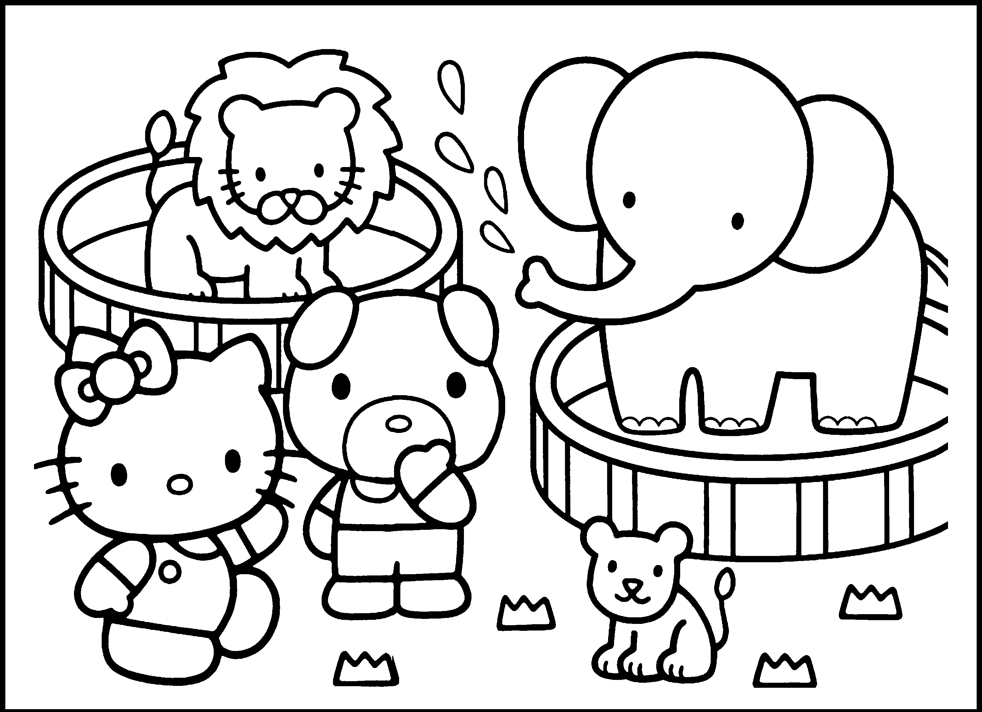 coloring pages printable animals 7 to print free coloring sheets