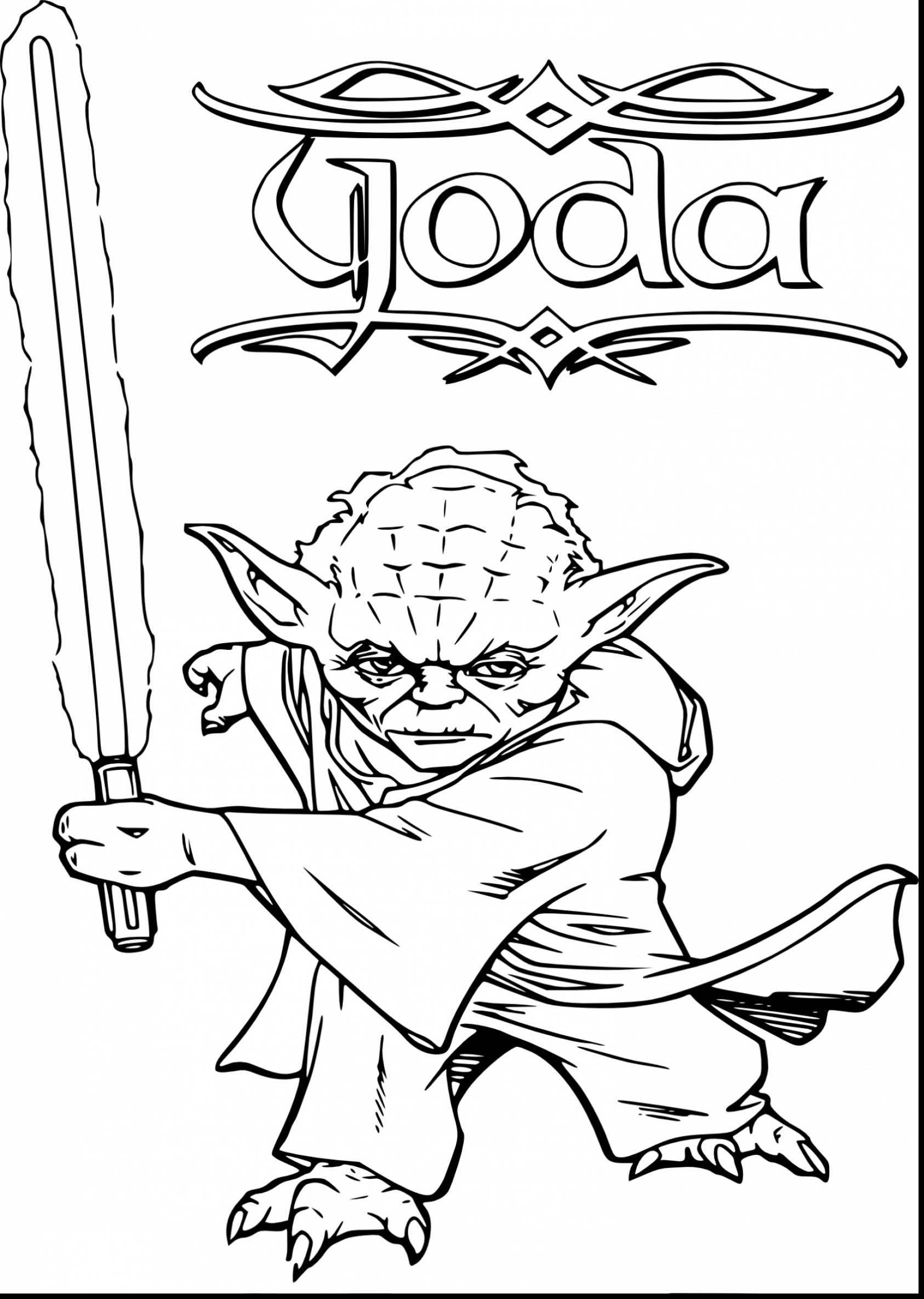 Star Wars Free Coloring Pages to
