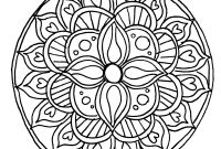Mandala Coloring Pages to Print - Printable Mandala Coloring Pages for Kids Free Free Coloring Books Printable