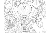 Hot Air Balloon Coloring Pages - Printable Printable Hot Air Balloon Coloring Pages for Kids Free Printable