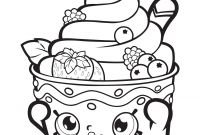 Print Shopkins Coloring Pages - Printable Shopkins Coloring Pages Season 4 Copy Print Fruit Apple Printable
