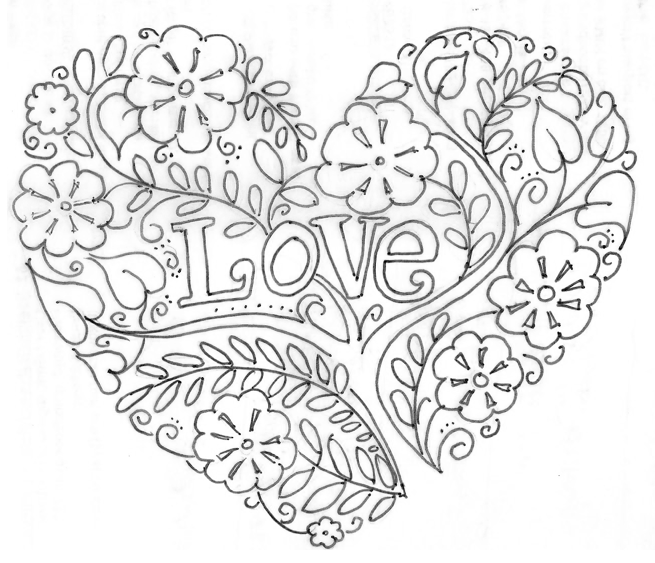 Printable Valentine S Day Coloring Pages My Craftily Ever after to Print Of I Love You Free Valentines S0189 Coloring Pages Printable Collection