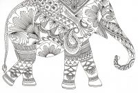 Elephant Mandala Coloring Pages - Queen Of Colouring Books Artist Sells 500k Copies to Adults Gallery