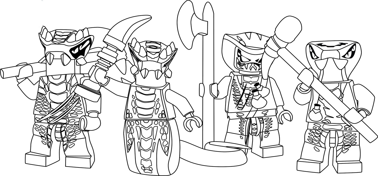 Remarkable Lego Ninjago Coloring Pages Printable for Kids Collection ...