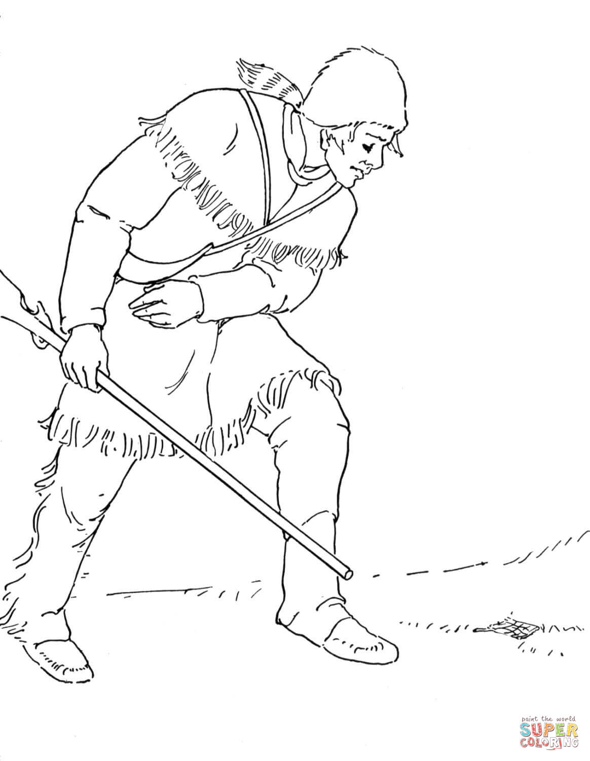 Sacagawea Coloring Page Collection Of Sacagawea Coloring Page to Print