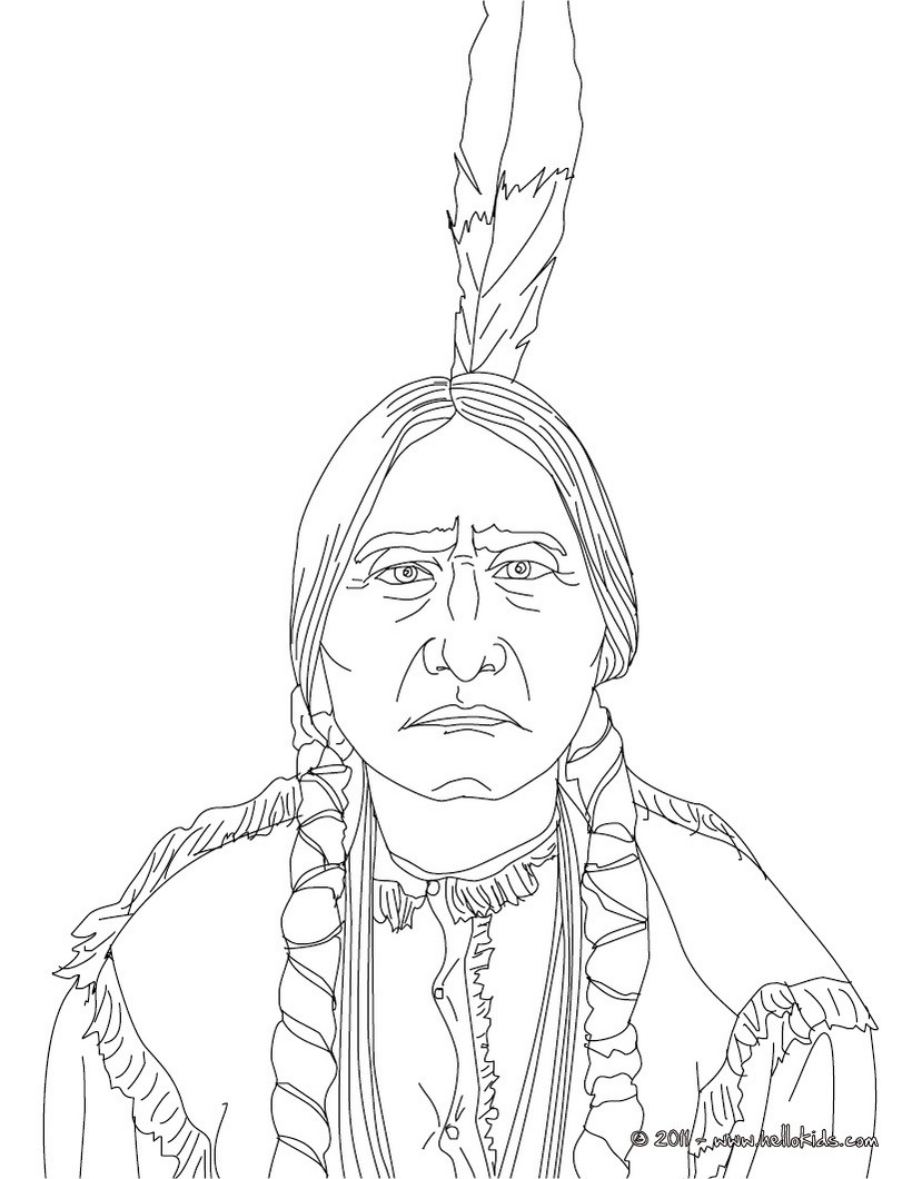 Sacagawea Coloring Pages to Print 19a - Free For Children