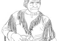 Sacagawea Coloring Pages - Sacajawea Coloring Pages Hellokids to Print