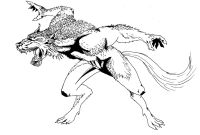 Wolf Coloring Pages Printable - Scary Wolf Coloring Pages Best Werewolf 21 Characters – Printable Printable