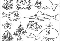 Sea World Coloring Pages - Sea Creature Coloring Pages to Print