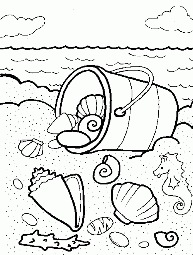 Sea World Coloring Pages Collection