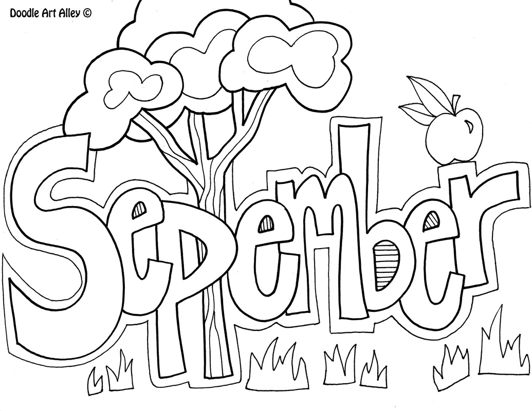 September Coloring Pages to Print Gallery 5l - Save it to your computer