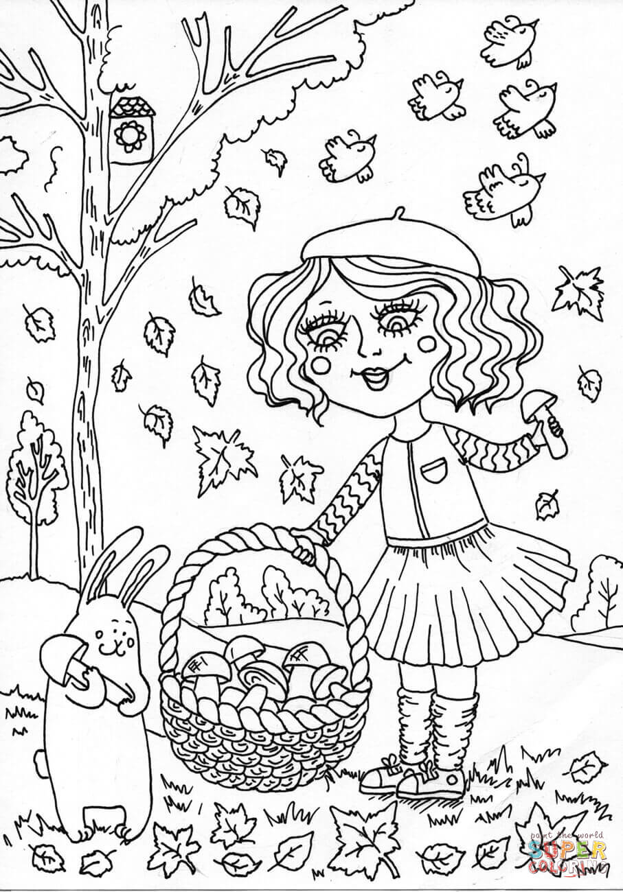 September Coloring Pages to Download and Print for Free within Faba Collection Of Peter Boy In September Coloring Page Printable
