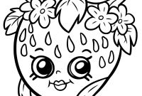 Print Shopkins Coloring Pages - Shopkins Coloring Pages 16 for Kids Beauteous to Print Printable