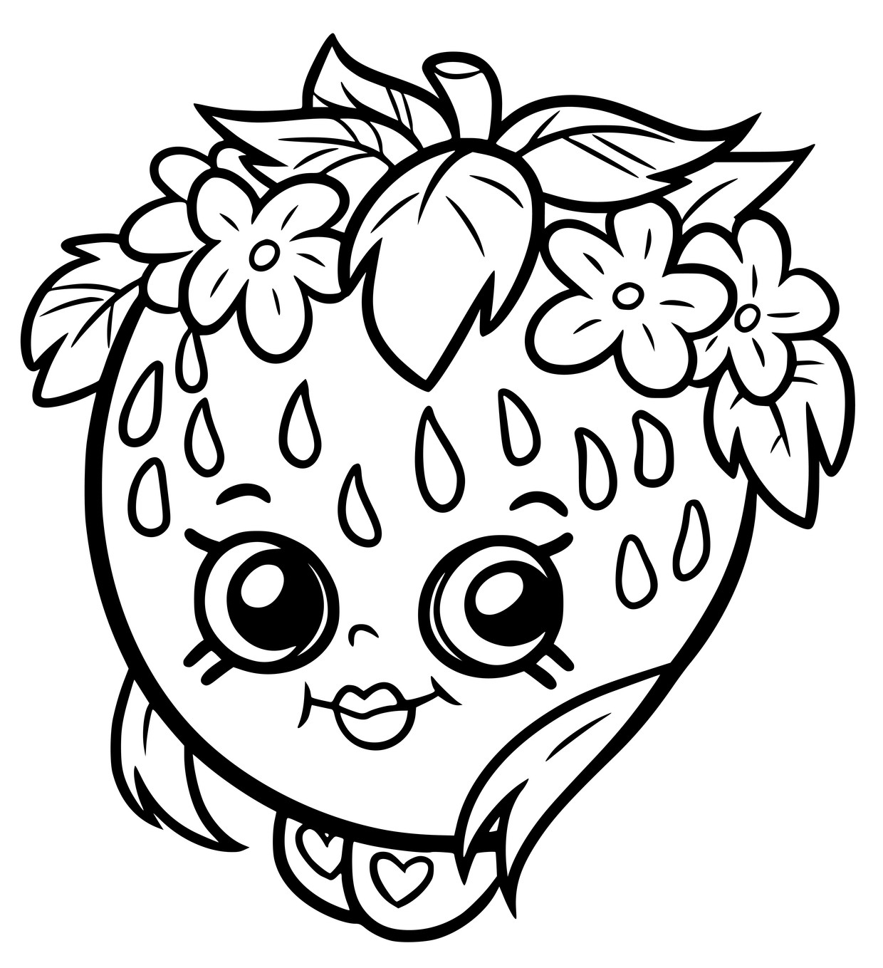 Shopkins Coloring Pages 16 For Kids Beauteous To Print Printable