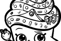 Print Shopkins Coloring Pages - Shopkins Coloring Pages Cupcake Queen Colouring to Cure Gallery