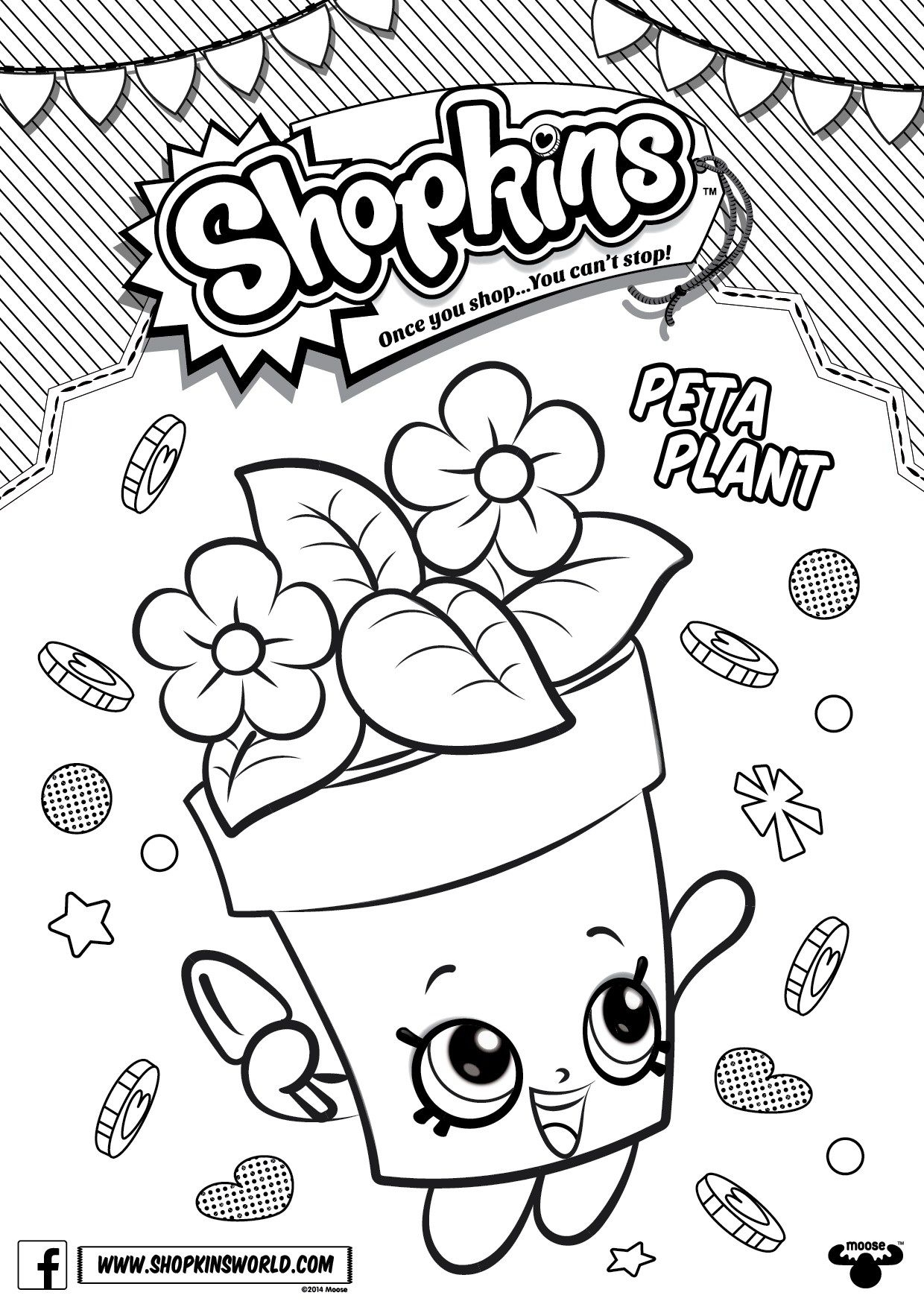 Print Shopkins Coloring Pages