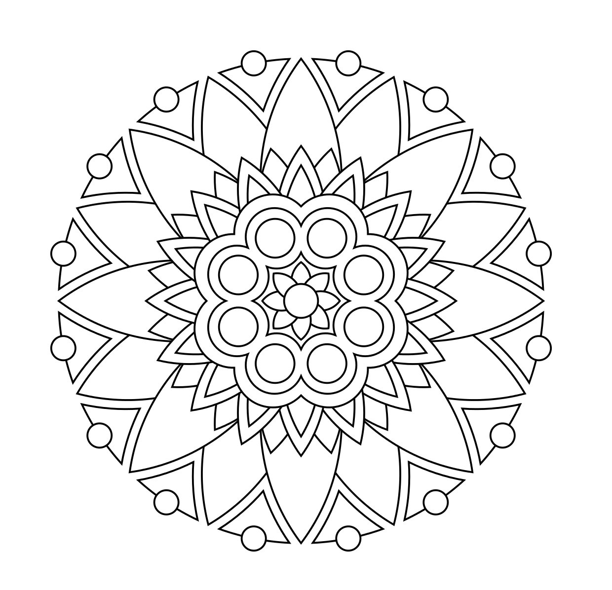 Simple Mandala Coloring Pages 441—440 to Print Of Modern Intricate Mandala Coloring Pages Coloring for Good Mandala to Print