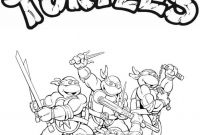 Teenage Ninja Turtle Coloring Pages - Skill Teenage Mutant Ninja Turtles Coloring Pa 3855 Unknown Printable