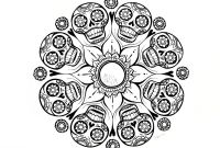 Mandala Coloring Pages to Print - Skull Mandala Coloring Pages Collection