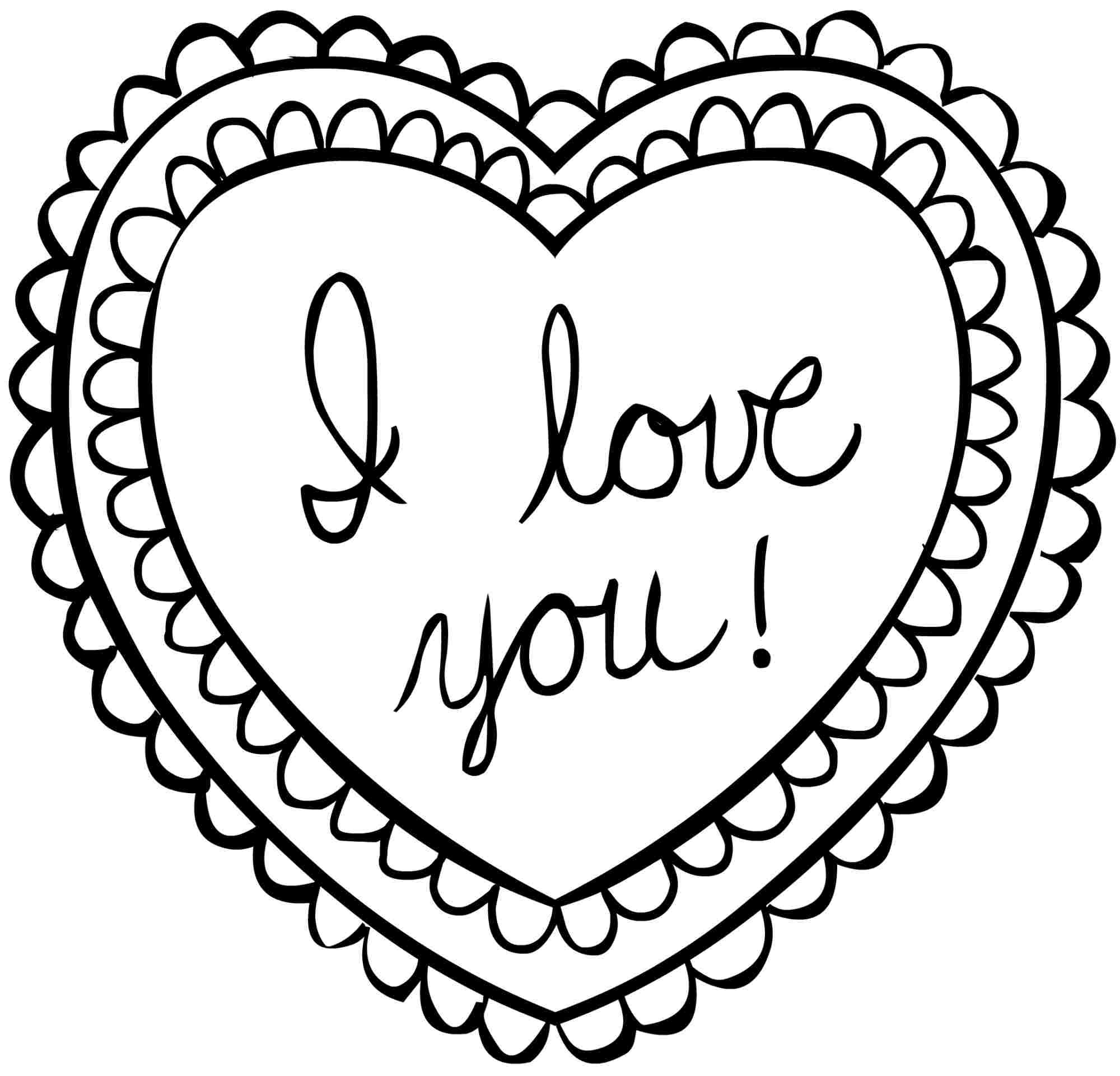 Valentines Day Coloring Pages Printable Download Free Coloring Books