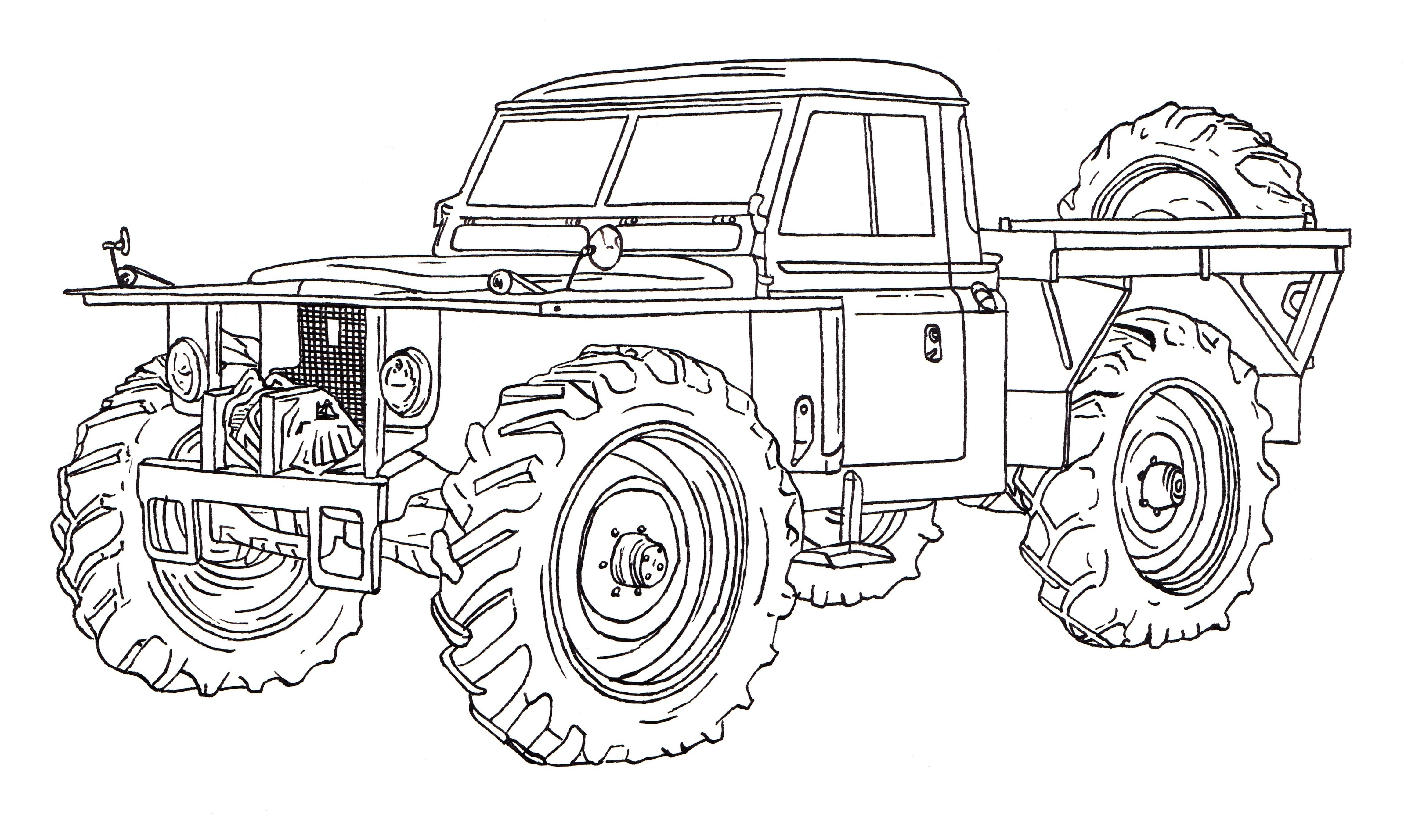 Super Car Land Rover Defender Coloring Page for Kids Best Land Download Of Land Rover Defender 90 Ink Drawing Collection