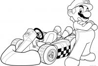 Mario Coloring Pages - Super Mario Bros Coloring Pages Download