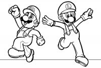 Mario Coloring Pages - Super Mario Coloring Pages 82 with Super Mario Coloring Pages Printable