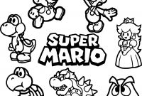 Mario Coloring Pages to Print - Super Mario Coloring Pages Collection