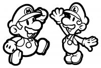 Mario Coloring Pages to Print - Super Mario Odyssey Coloring Pages to Print Download