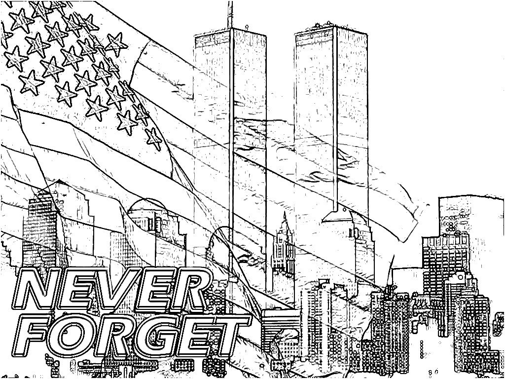 Surging September 11 Coloring Pages We Remember 9 01 Page Free Collection Of Peter Boy In September Coloring Page Printable