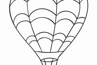 Hot Air Balloon Coloring Pages - Surprise Hot Air Balloon Coloring Sheet Unbeli Unknown Collection