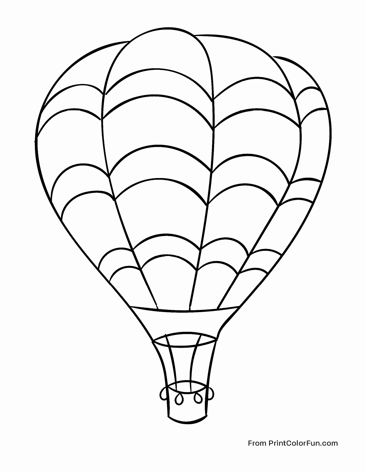 Surprise Hot Air Balloon Coloring Sheet Unbeli Unknown Collection Of Hot Air Balloon Coloring Page Collection