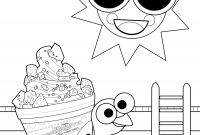 Yogurt Coloring Pages - Sweetfrog Premium Frozen Yogurt to Print
