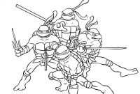 Teenage Ninja Turtle Coloring Pages - Teenage Mutant Ninja Turtle Coloring Pages Free Printable orango Printable