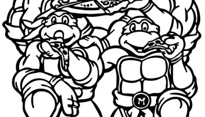 Teenage Ninja Turtle Coloring Pages - Teenage Mutant Ninja Turtles Coloring Pages Gallery