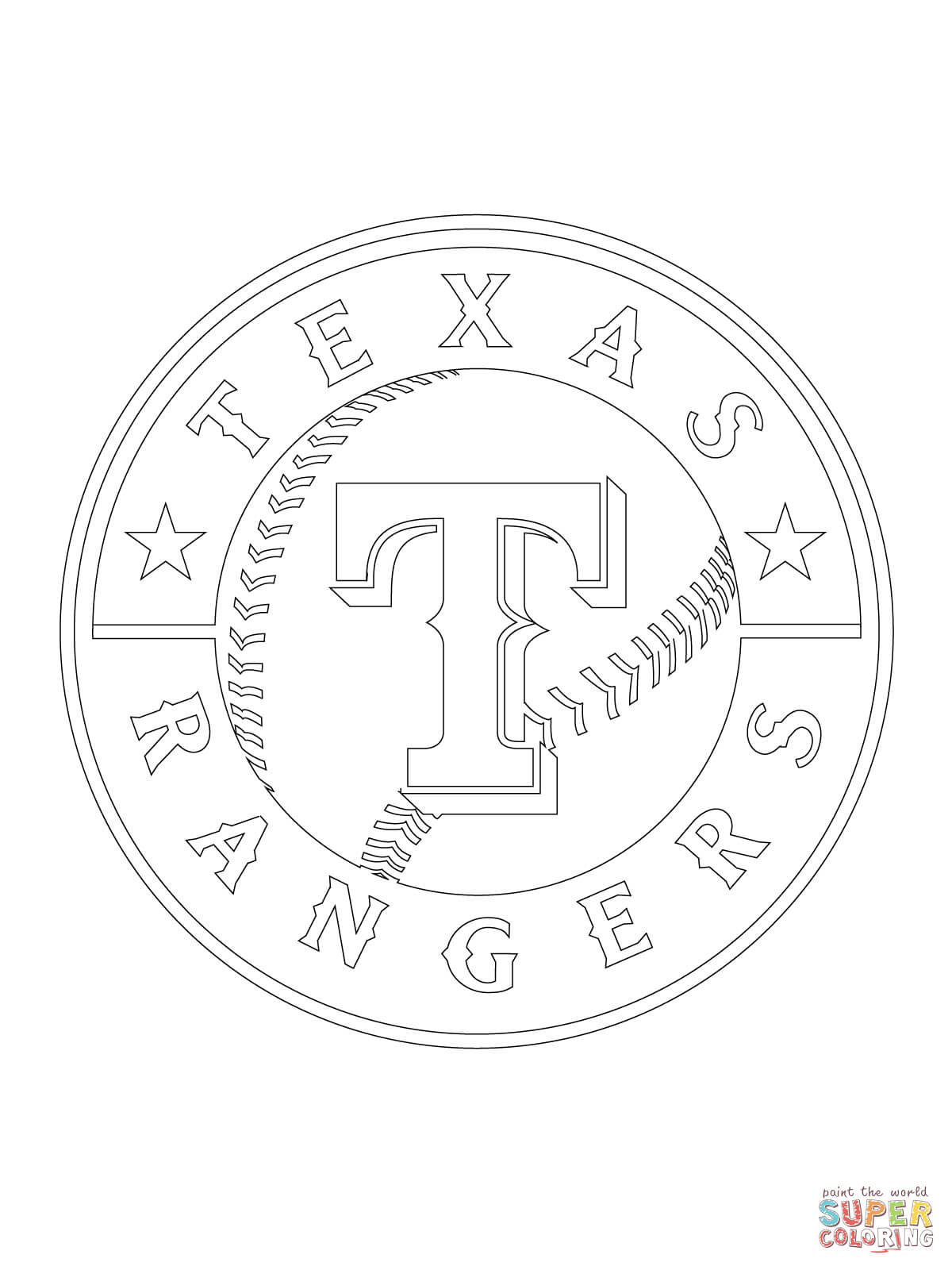 Texas Rangers Logo Coloring Page to Print Of Perspective Texas Tech Coloring Pages Page to Print