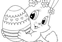 Coloring Pages for Kids for Easter - top 15 Free Printable Easter Bunny Coloring Pages Line to Print