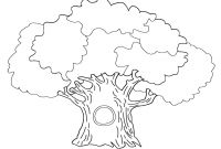 Tree Coloring Pages - Tree Coloring Pages for Kids Printable Coloringstar Download