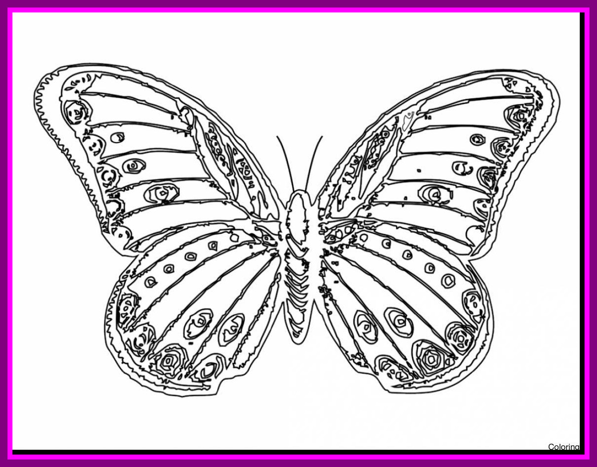 Unbelievable Monarch butterfly Clipart E Pics for Coloring Pages to Print Of Detailed Coloring Pages for Adults Collection