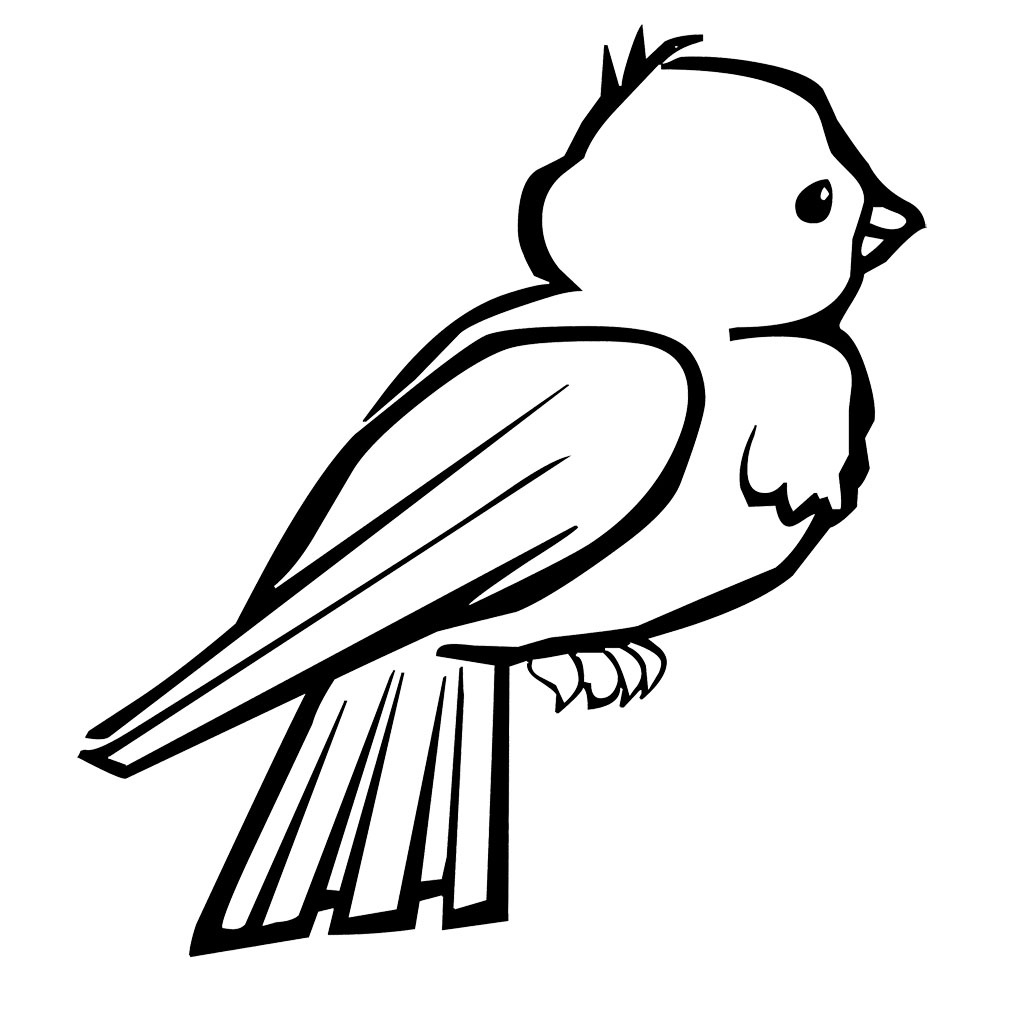 Coloring Pages Birds Collection 12a - Save it to your computer