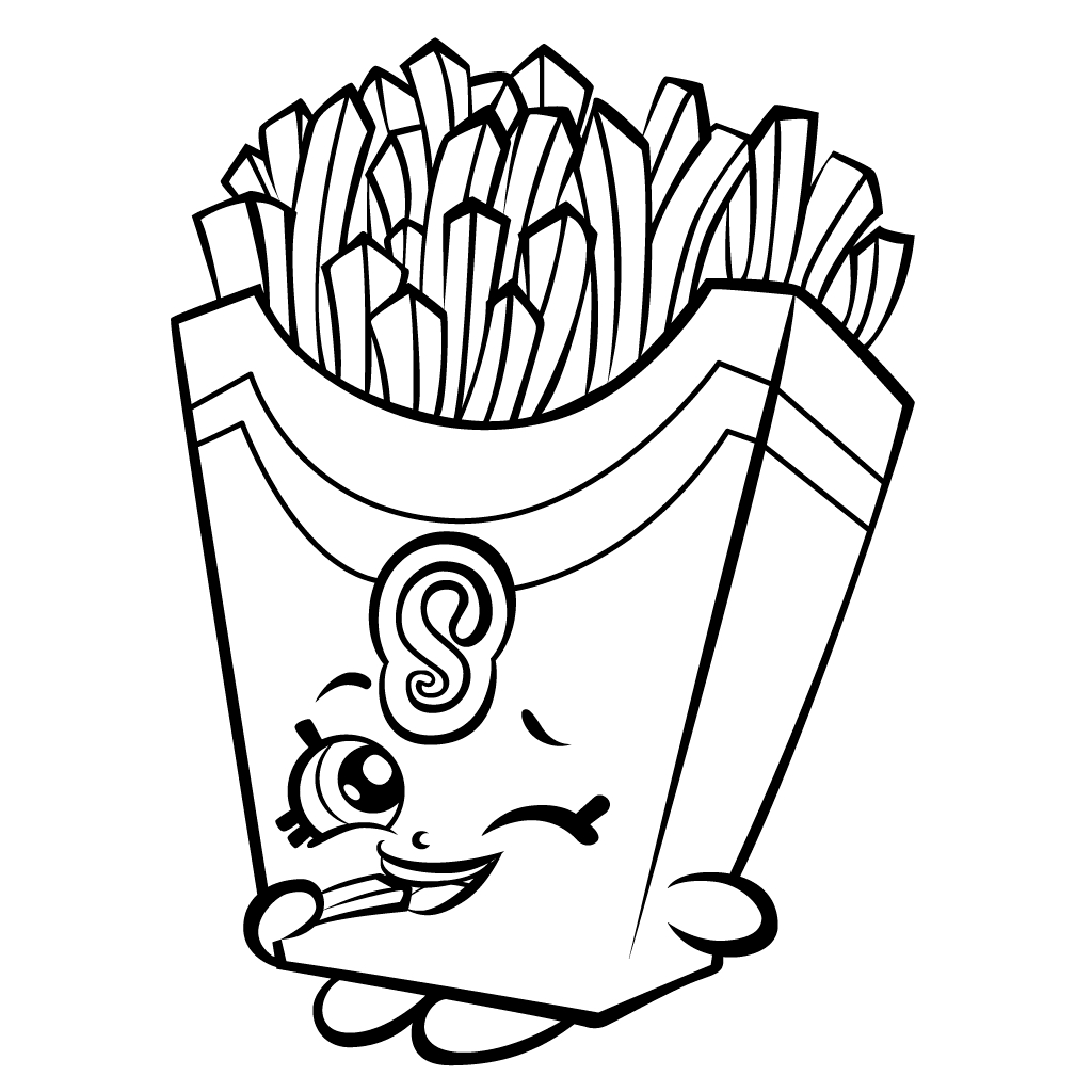 Print Shopkins Coloring Pages Printable 7f - To print for your project