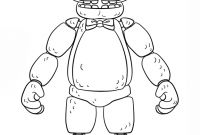 Fnaf Printable Coloring Pages - Unique Five Nights at Freddy S Printable Coloring Pages Gallery Collection